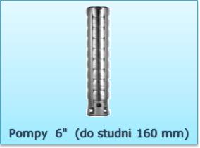 Pompy głębinowe 6 cali