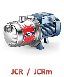 JCR JCRm pedrollo pompy hydroforowe