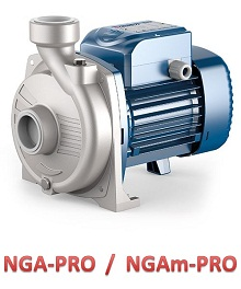 NGA-PRO pedrollo pompa ze stali nierdzewnej